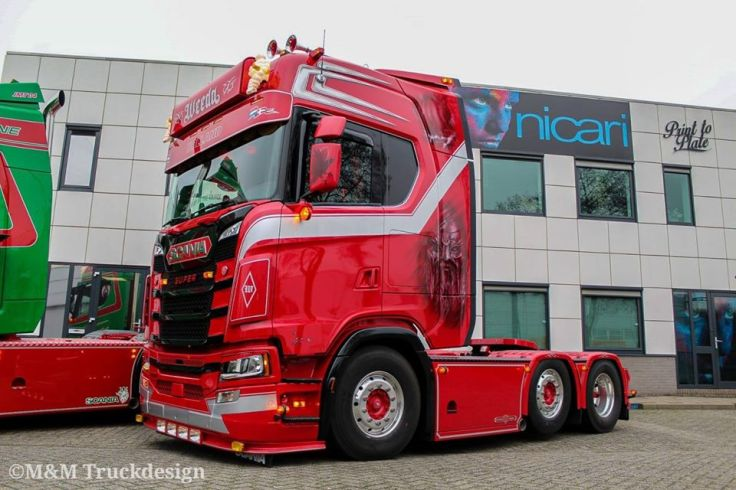 Truck interieur