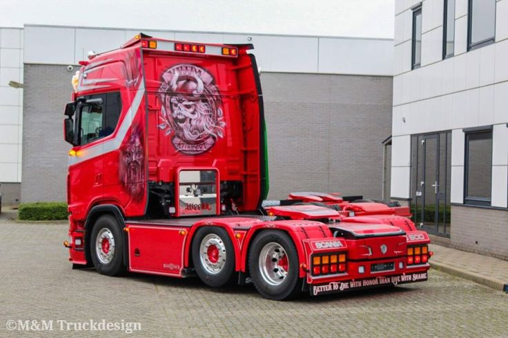 Vrachtwagen interieur